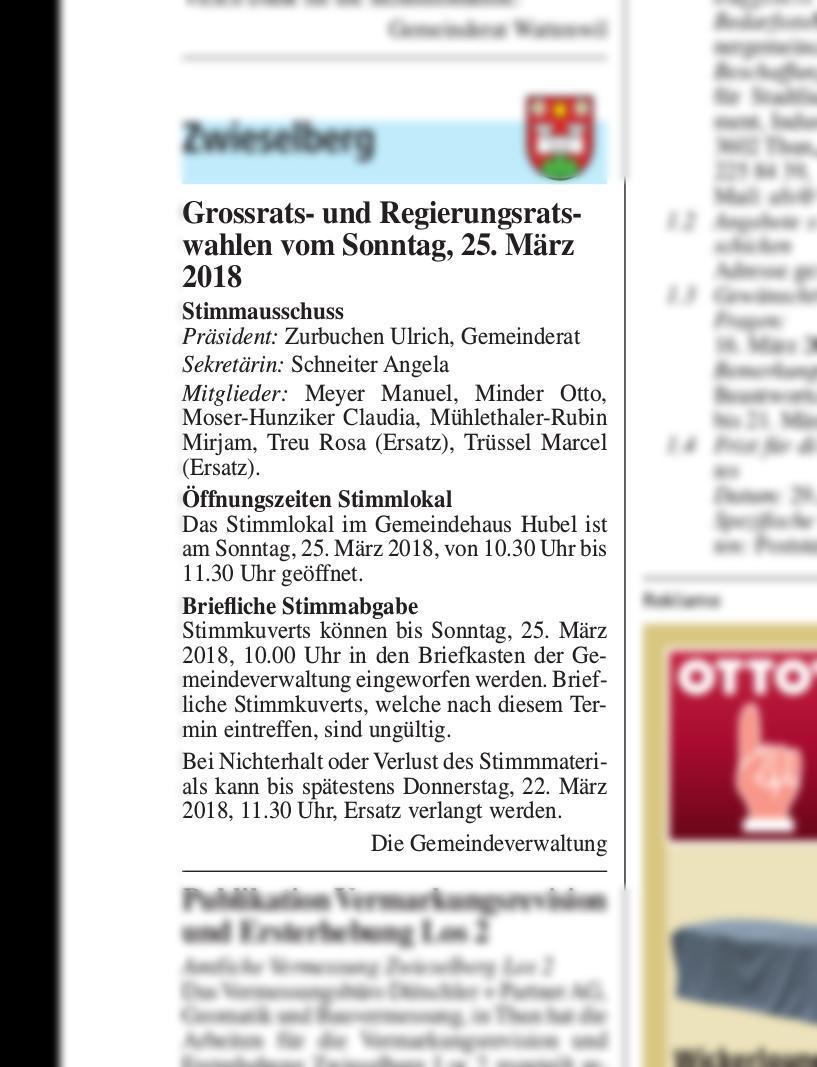 2018-03-08 | Thuner Amtsanzeiger