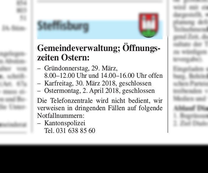 2018-03-22 | Thuner Amtsanzeiger