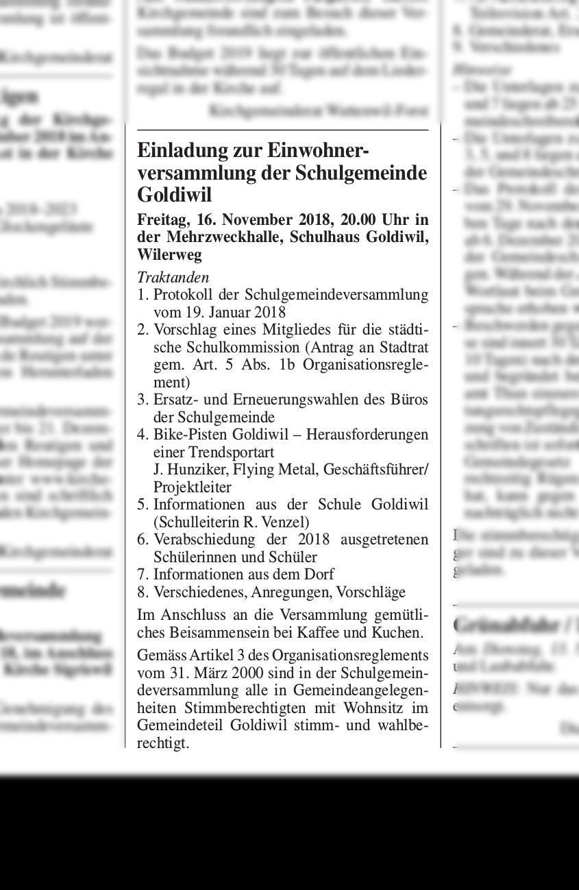 Startseite | Thuner Amtsanzeiger